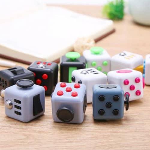 Fidget cubes sfeer