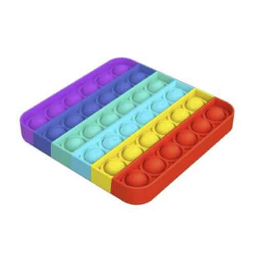 Pop it rainbow vierkant