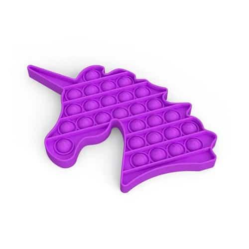 Pop it unicorn paars