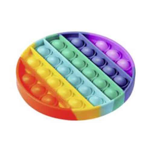 Rainbow pop it rond