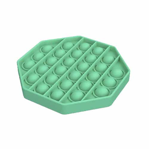 Pop it toy achthoek groen