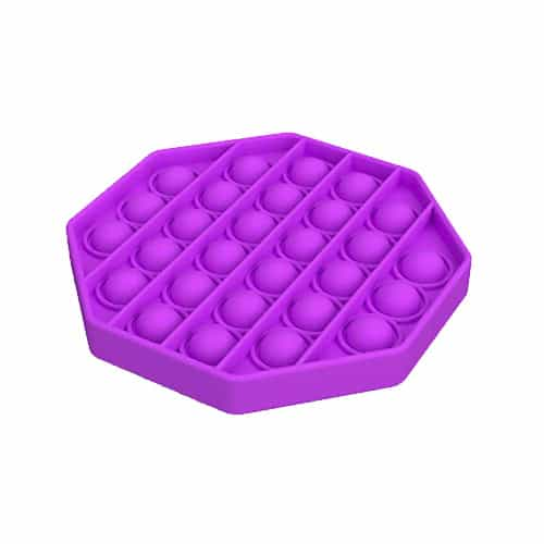 Pop it toy achthoek paars