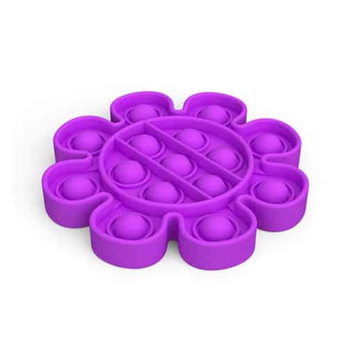 Pop it toy bloem paars