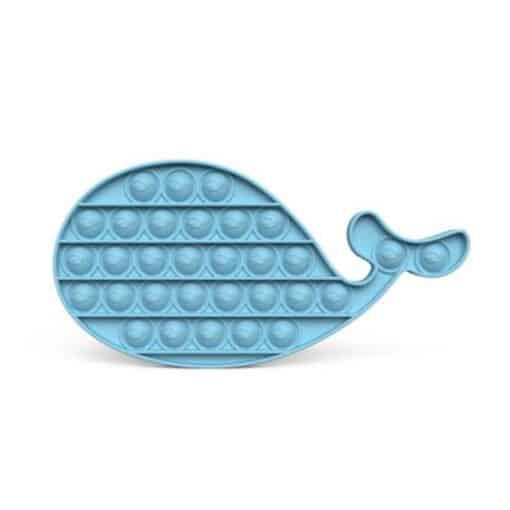 Pop it walvis blauw