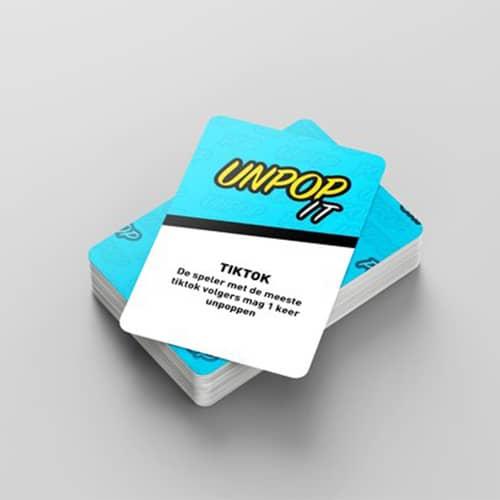 unpop it kaartspel
