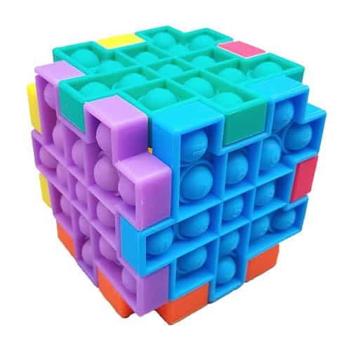 Pop it fidget cube puzzel