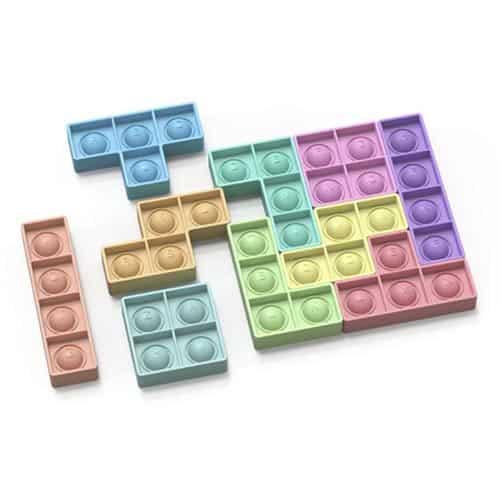 Pop it puzzel tetris