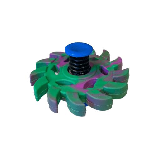 Bouncing spinner paars